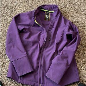 Purple under armour jacket